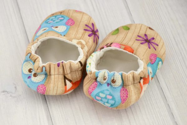 Woodland Critters Baby Shoes