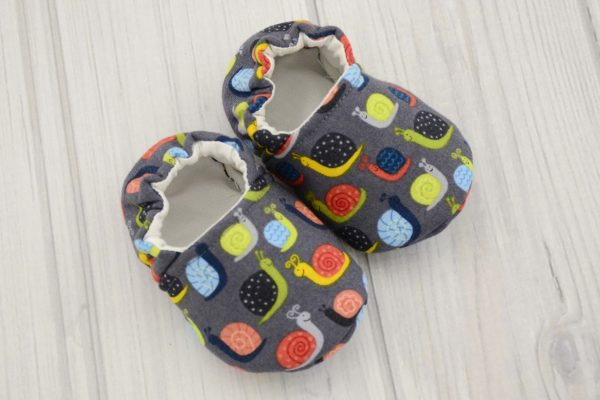 Birds Baby Shoes