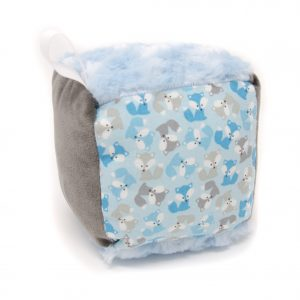 Blue Fox Rattle Block