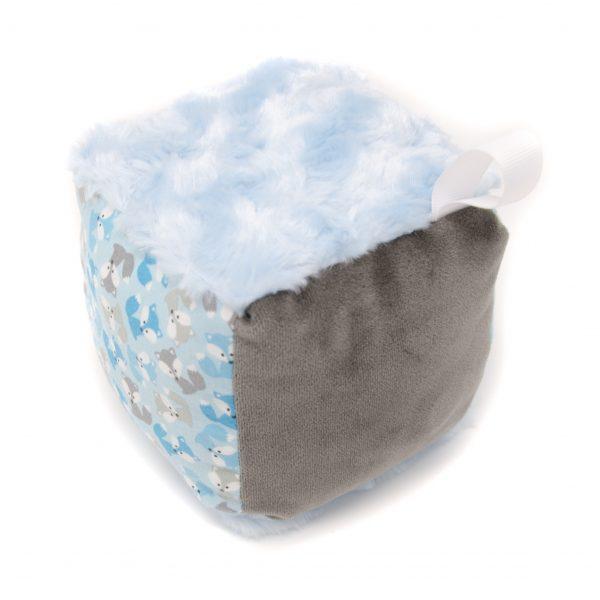 Blue Fox Rattle Block