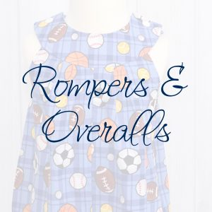 Rompers & Overalls