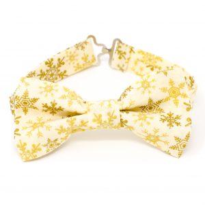 Snowflake Bow Tie