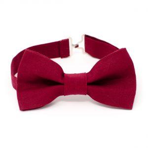 Maroon Bow Tie