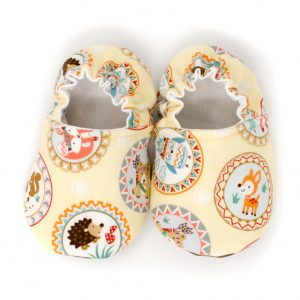 Camp Along Critters Baby Shoes
