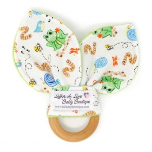 Back Yard Critters Teething Ring