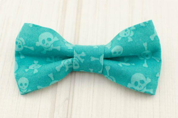 Pirate Skull Bow Tie & Suspender Shirt